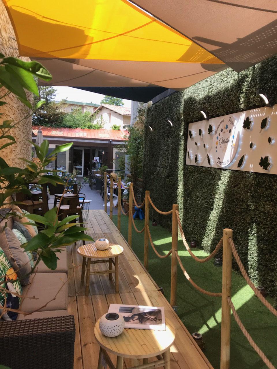 Le restaurant un jardin en ville - Restaurant le jardin marseille ...